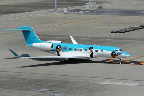 VP-CJJ Gulfstream G650 RJTT