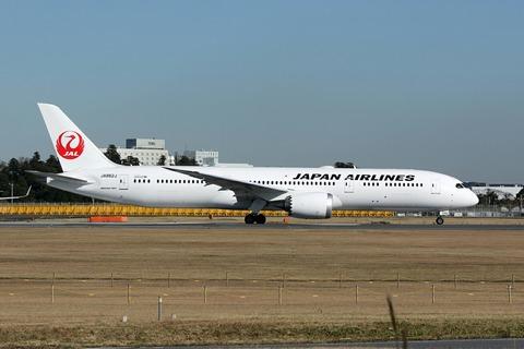 JA862J B787-9 JAL RJAA