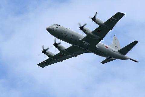 P-3C 自衛隊記念日観閲式 観閲飛行 彩湖・道満グリーンパーク