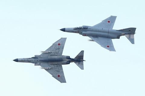 F-4EJ 戦闘機 飛行展示 RJAH 航空自衛隊 百里基地航空祭