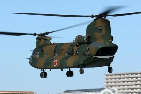 JG-2985 CH-47J Chinook 陸上自衛隊 立川防災航空祭 立川駐屯地