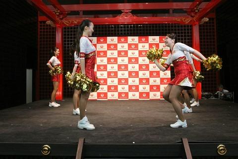 JAL ダンスパフォーマンス JAL JETS 羽田 空の日フェスティバル