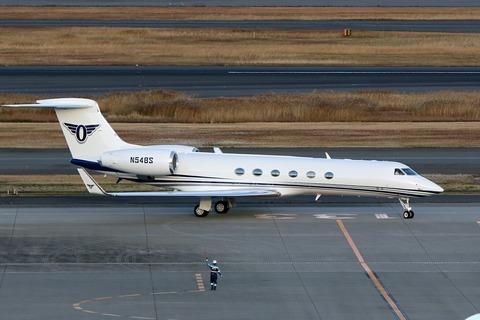 N54BS Gulfstream G-V RJTT