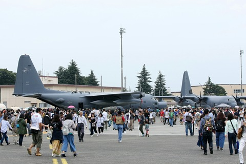 地上展示機 MC-130 RJTY 横田基地日米友好祭