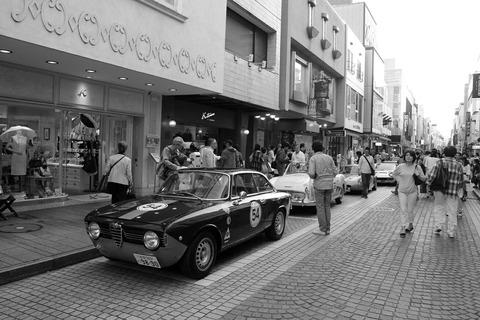 54 ALFA ROMEO GIULIA SPRINT GTV 1966 RALLY YOKOHAMA 2016