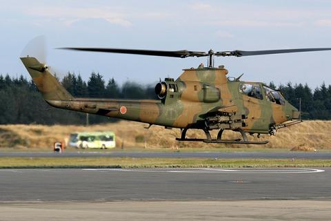73449 AH-1S 帰投 入間航空祭2018 航空自衛隊 入間基地