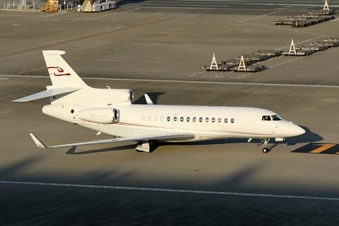 HB-JSS Dassault Falcon 7X RJTT