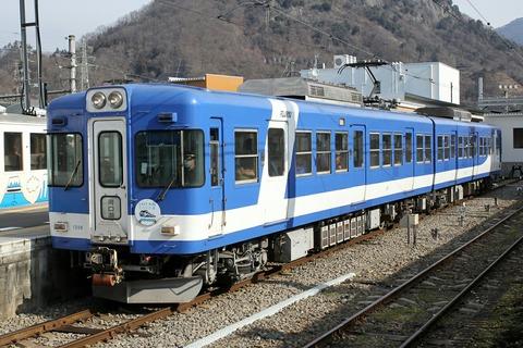 富士急行 1200形 大月駅