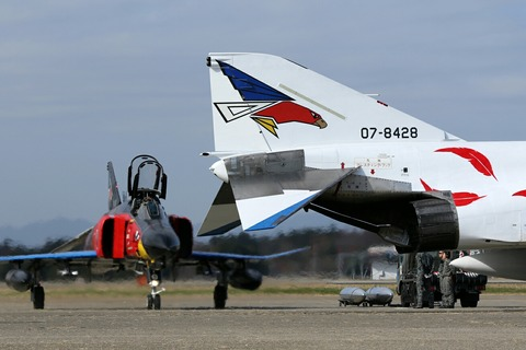 オジロファントム デモスクランブル 百里基地航空祭 航空自衛隊