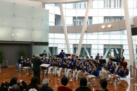 横浜税関音楽隊 三塔の日 横浜税関本関庁舎 一般公開