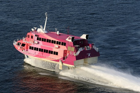 東海汽船 セブンアイランド 愛 レインボーブリッジ