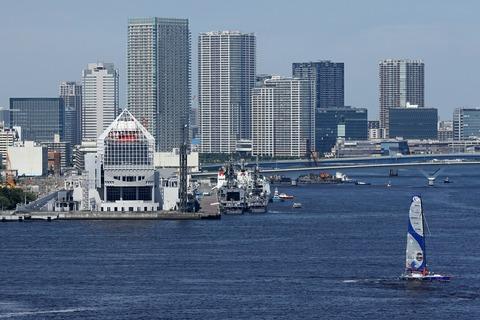 晴海埠頭 カナダ海軍艦艇親善訪問 レインボーブリッジ