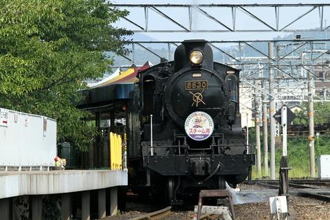 スチーム号 8620形8630号機 梅小路蒸気機関車館