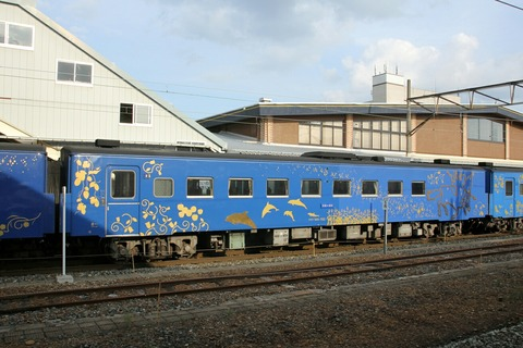キサハ144-702 SL銀河 花巻駅
