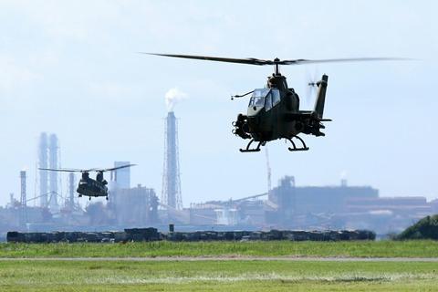 AH-1S 訓練展示 第45回 木更津航空祭 陸上自衛隊 木更津駐屯地