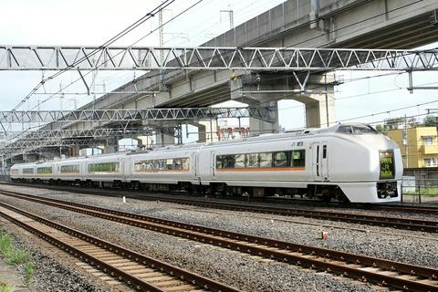 JR東日本 E657系電車 東十条