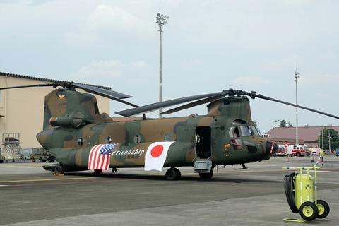 JG-2966 CH-47JA Chinook RJTY 横田基地日米友好祭