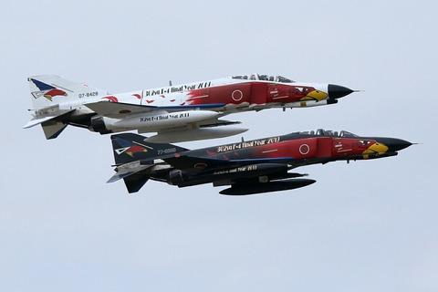 オジロファントム F-4EJ 飛行展示 百里基地航空祭 航空自衛隊