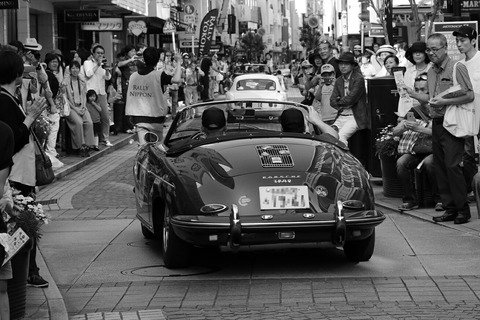 40 PORSCHE 356B ROADSTER 1961 RALLY YOKOHAMA 2016