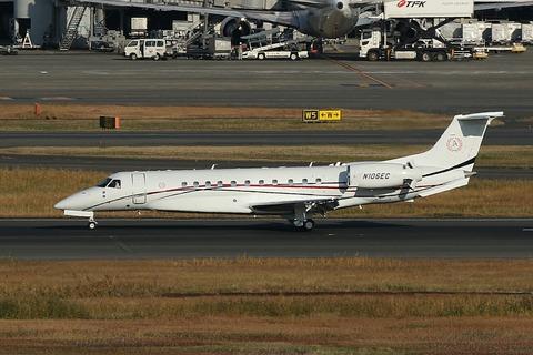 N106EC Embraer EMB-135BJ Legacy RJTT