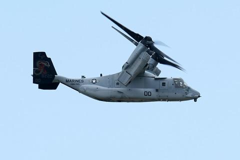 8220 MV-22B オスプレイ VMM-265 岩国基地フレンドシップ・デー