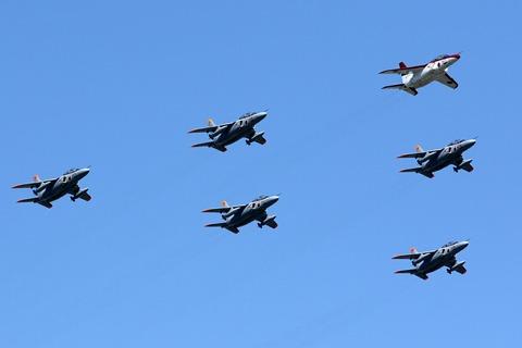 T-4 飛行展示 入間航空祭2018 航空自衛隊 入間基地