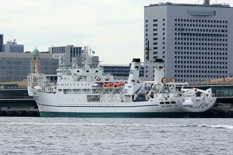 KDDIオーシャンリンク 洋上見学クルーズ ペガサス 横浜大桟橋