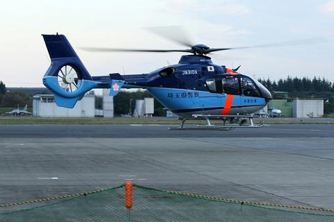 JA310A EC135P2+ 埼玉県警察 入間航空祭2018 航空自衛隊 入間基地