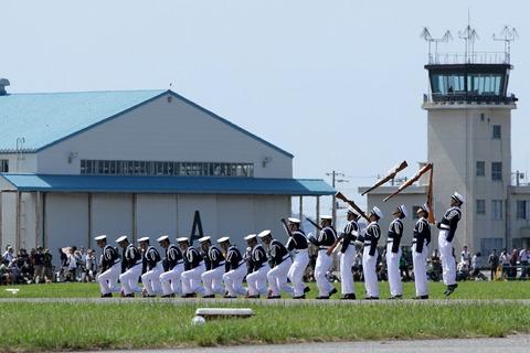 防衛大学校儀仗隊 ドリル 木更津航空祭 陸上自衛隊 木更津駐屯地