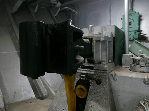 連結器 車両展示室 車両甲板 青函連絡船 メモリアルシップ 八甲田丸
