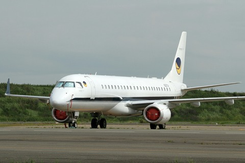 N227GV Embraer ERJ-190-100ECJ Lineage1000 RJTT