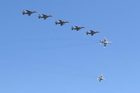 T-4 飛行展示 入間航空祭2017 航空自衛隊 入間基地