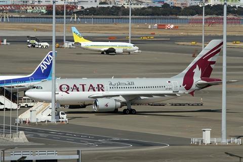A7-AFE A310-300 QAF RJTT V.I.P.Flight