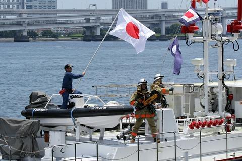 第69回 東京みなと祭 水の消防ページェント フェアウェルパレード