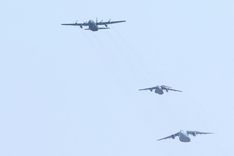航空自衛隊 祝賀飛行 フランス航空教育団来日100周年記念イベント
