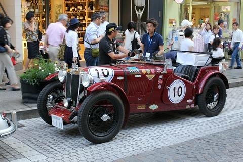 10 MG TA 1936 RALLY YOKOHAMA 2016