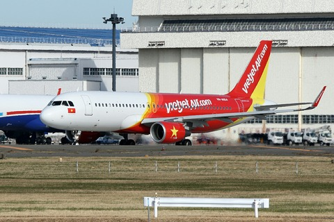 VN-A664 A320-200 VJC RJAA