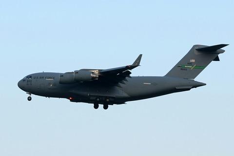 08-8193 C-17 USAF RJTY