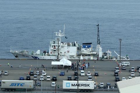 HL05 測量船 海洋 一般公開 第44回川崎みなと祭り 川崎マリエン