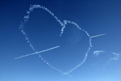 ブルーインパルス 入間航空祭2015 バーティカルキューピッド