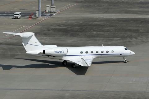 N999HZ Gulfstream G550 RJTT