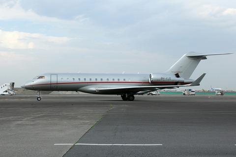 9H-VJQ Bombardier BD-700 Global6000 RJTT