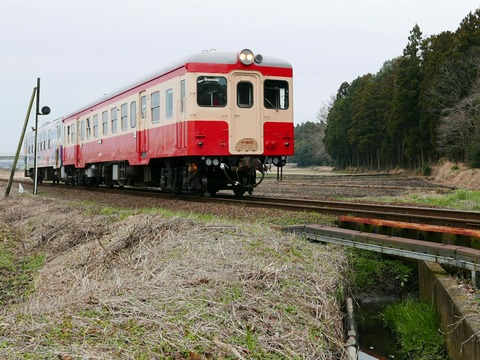 ひたちなか海浜鉄道 キハ20形 キハ205 中根駅