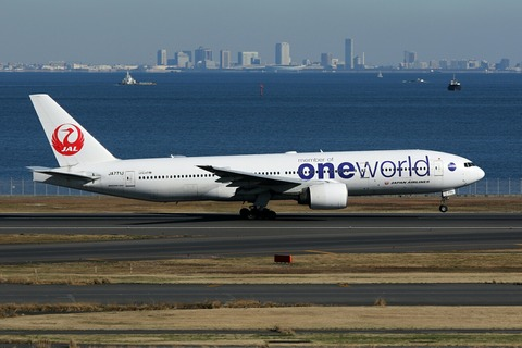 JA771J B777-200 JAL one world RJTT