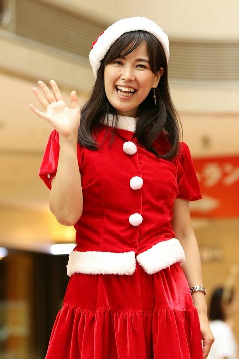 サンタガール 羽田空港 クリスマスイベント