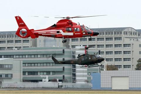 ヘリコプター 立川防災航空祭 2012.11.11