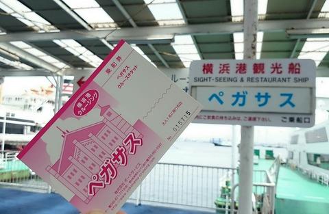 横浜港 洋上見学クルーズ ポートサービス ペガサス