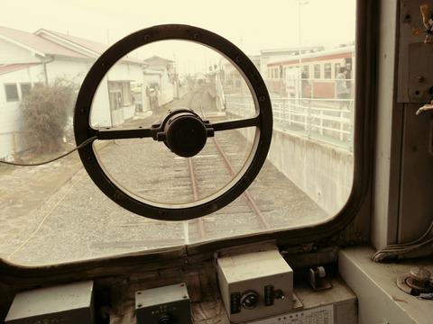 ひたちなか海浜鉄道 キハ22形 キハ222 阿字ヶ浦駅