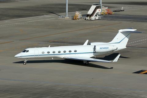 N2480H Gulfstream G550 RJTT