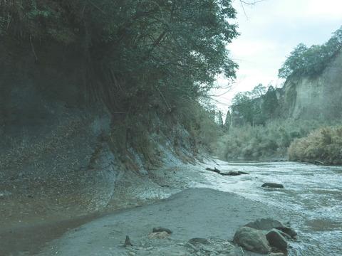 チバニアン 養老川流域田淵の地磁気逆転地層 千葉セクション